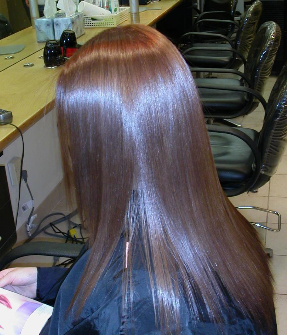 Damaged Hair Scalp Health